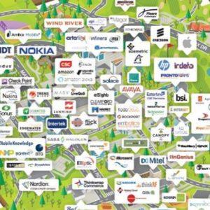 Map of Kanata North companies